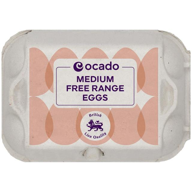 Ocado Medium Free Range Eggs