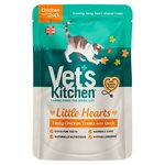 Vet's Kitchen Little Hearts Crunchy Chicken & Duck Cat Treats