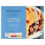 Waitrose Chicken & Gravy Pie with Shortcrust Pastry