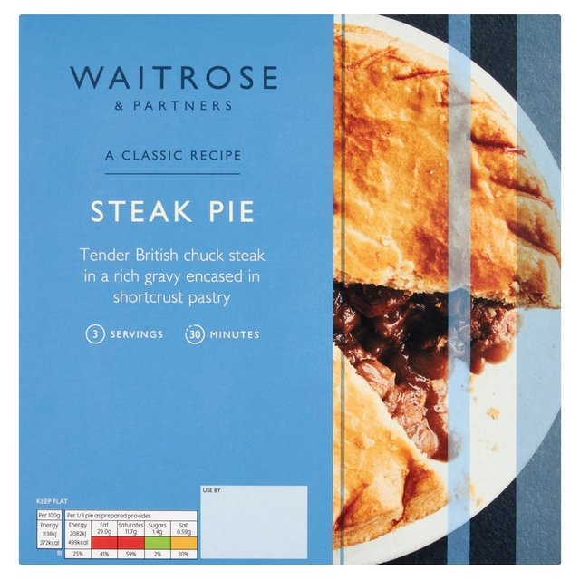 how to make a steak pie with shortcrust pastry