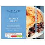 Waitrose Steak & Ale Pie with Puff Pastry Lid