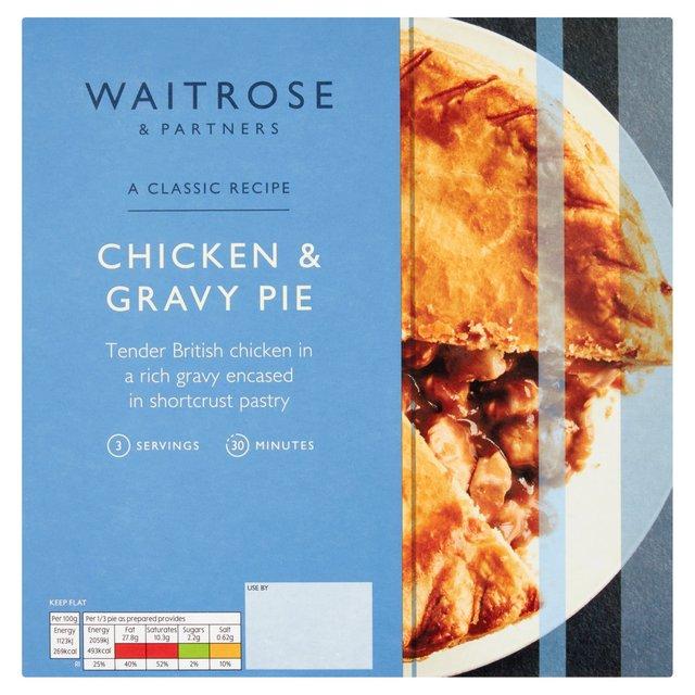 Waitrose Roast Chicken & Gravy Pie with Shortcrust Pastry ...