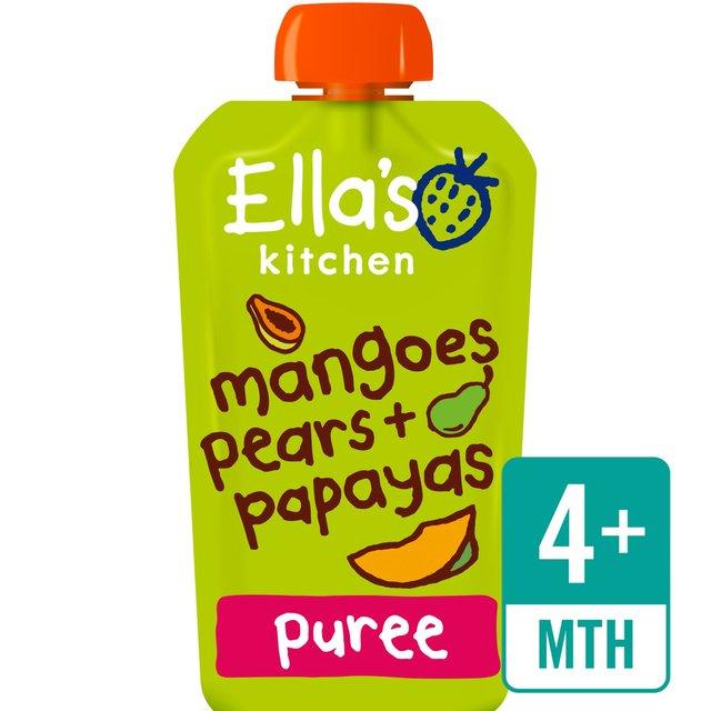 Ella's Kitchen Papayas, Mangoes & Pears Stage 1 | Ocado