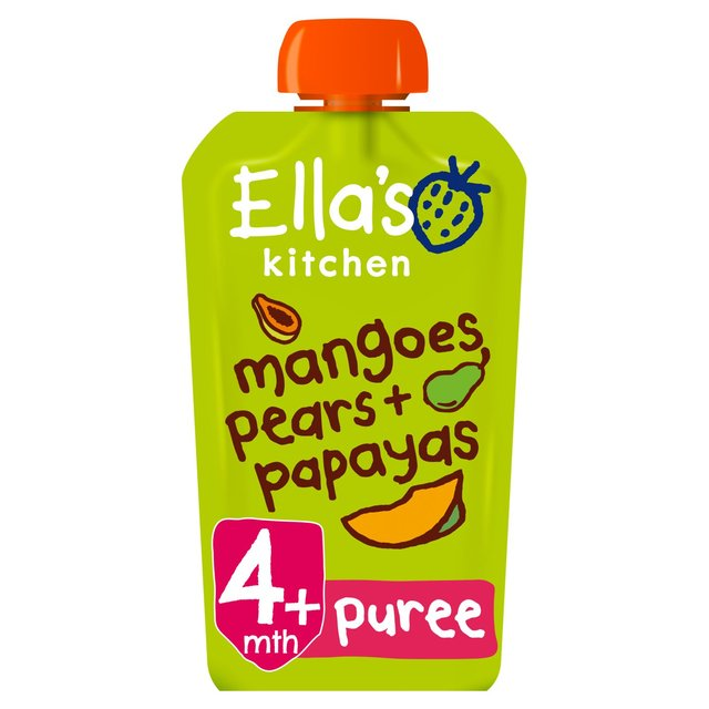 Ella S Kitchen Papayas Mangoes Amp Pears Stage 1 120g From