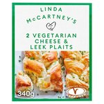 Linda McCartney Frozen Cheese, Leek & Potato Plaits