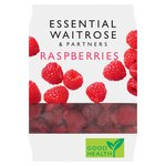 Essential Waitrose Raspberries Frozen