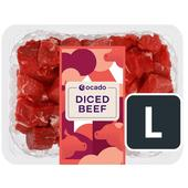 Ocado Diced Beef 5% Fat