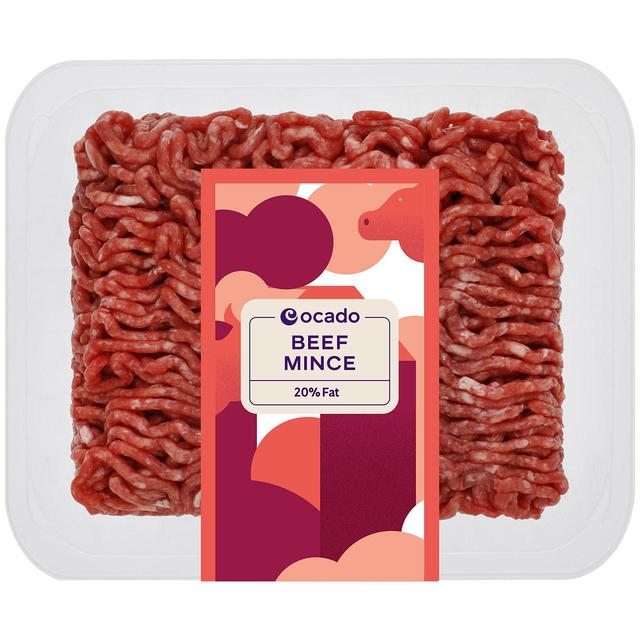 Ocado: Ocado Beef Mince 20% Fat 500g(Product Information)