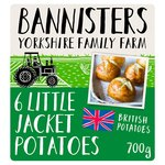 Bannisters' Farm Small Baked Jacket Potatoes Frozen
