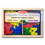 Melissa & Doug Magnetic Wooden Letters, 3yrs+