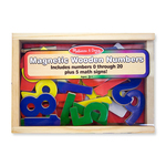 Melissa & Doug Magnetic Wooden Numbers 3+