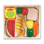 Melissa & Doug Wooden Cutting Food, 3yrs+