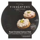 Findlater's Roast Smoked Salmon Pate with Black Pepper, Lemon & Lime