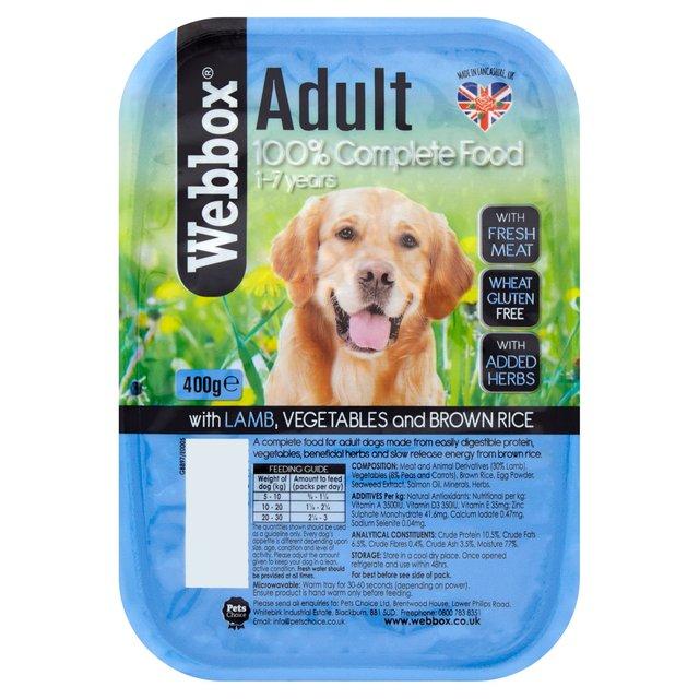 Webbox Dog Food Any Good