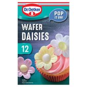 Dr Oetker Wafer Daisies Flowers