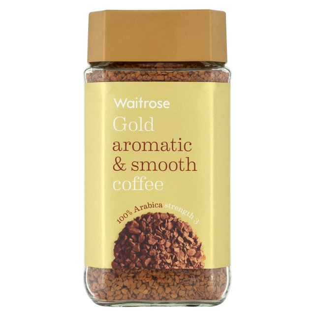 waitrose gold freeze dried instant coffee 100g from ocado. Black Bedroom Furniture Sets. Home Design Ideas