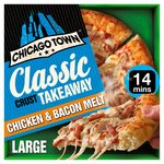 Chicago Town Takeaway Large Classic Chicken & Bacon Pizza