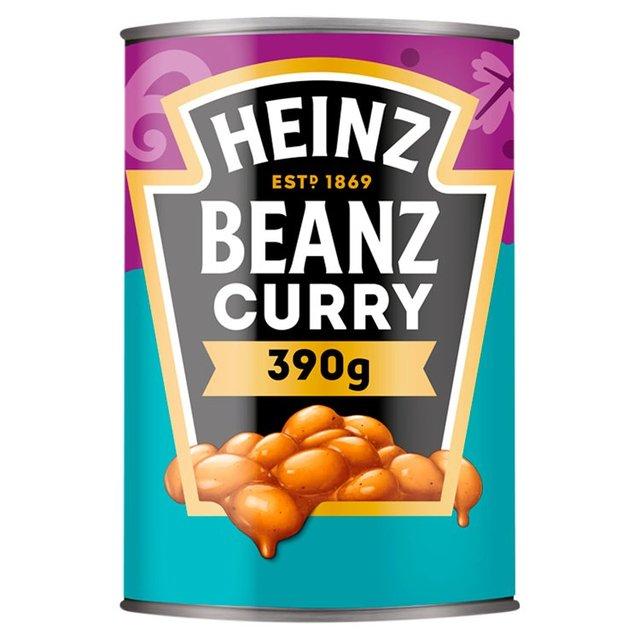 Heinz Beanz Curry Ocado