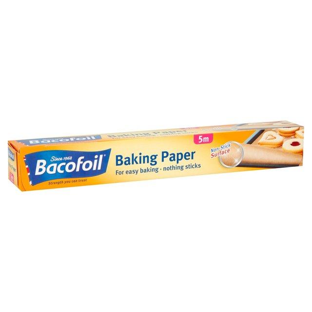 bacofoil baking paper 300mm x 5m from ocado. Black Bedroom Furniture Sets. Home Design Ideas