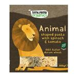Little Pasta Organics Animal Shaped Pasta Tomato & Spinach