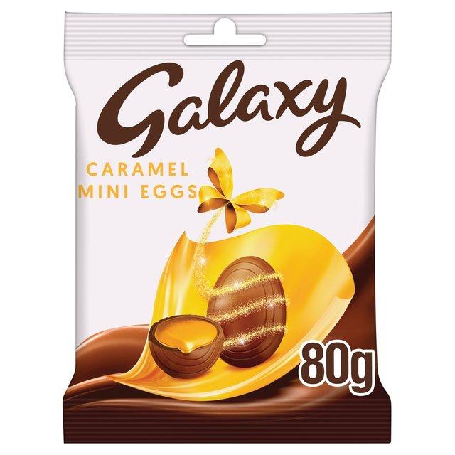 Galaxy Chocolate Caramel Mini Eggs 84g from Ocado