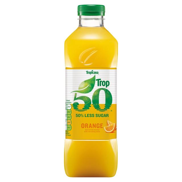 Tropicana Trop50 Orange Juice Smooth; Tropicana Trop50 Orange Juice Smooth