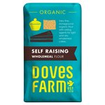 Doves Farm Organic Self Raising Wholemeal Flour