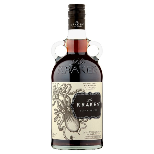 The kraken black spiced rum 70cl from ocado - Kraken rum pictures ...
