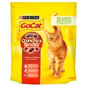 Go-Cat Crunchy & Tender Beef Chicken & Vegetable