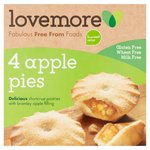 Lovemore Gluten & Wheat Free Apple Pies