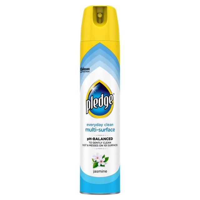 Pledge Clean Amp Dust Jasmine Multi Surface Polish 250ml