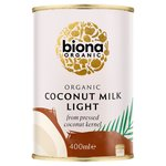 Biona Organic Coconut Milk Light (9% Fat)