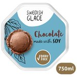 Swedish Glace Soy Heavenly Chocolate Dairy Free Ice Cream