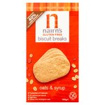 Nairn's Gluten Free Biscuit Breaks Oats & Syrup