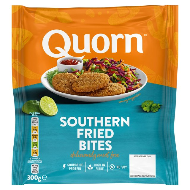 Quorn Southern Fried Bites Frozen 300g From Ocado