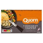 Quorn Chicken & Leek Pie Frozen