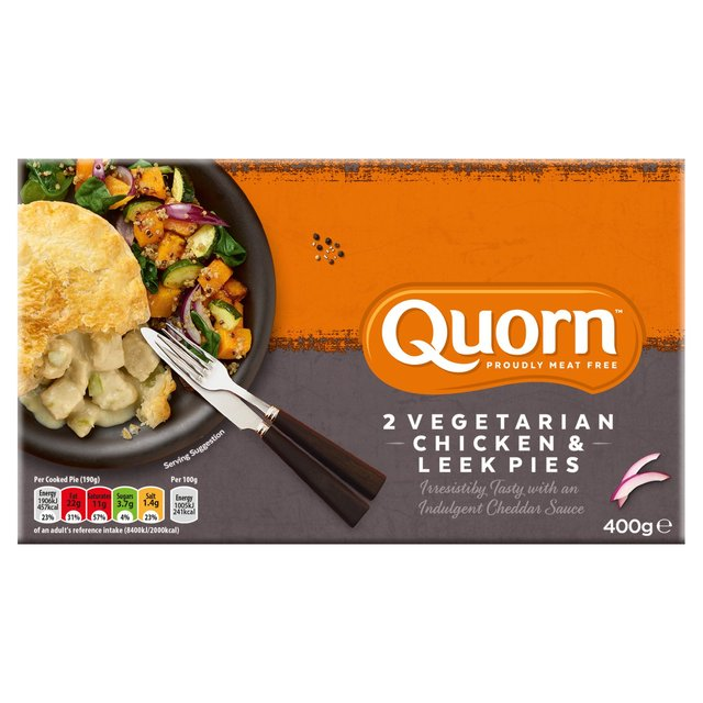 Quorn Chicken Leek Pie Frozen Ocado