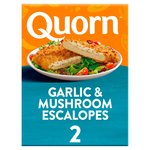 Quorn Garlic & Mushroom Escalopes Frozen