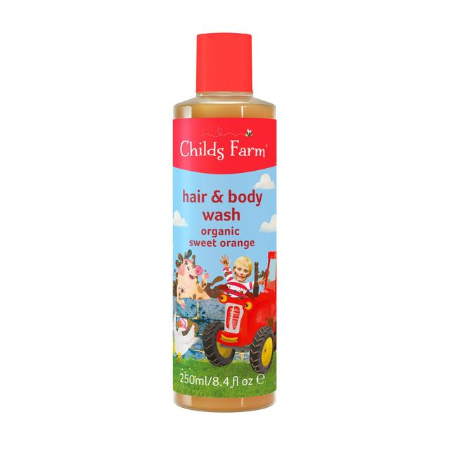 Childs Farm Orange Caked in Mud! Hair & Body Wash for Dirty Rascals