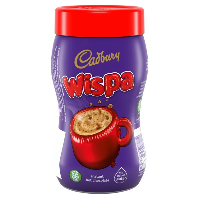Cadbury Wispa Fairtrade Hot Chocolate Jar