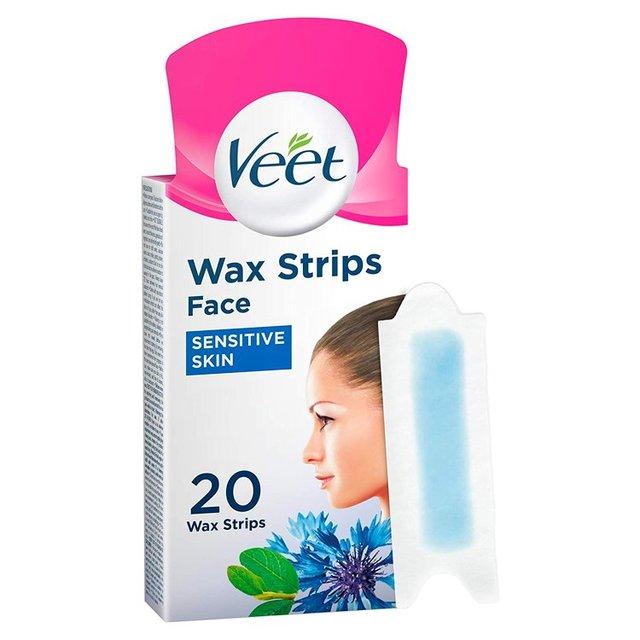 veet wax strips for sensitive skin