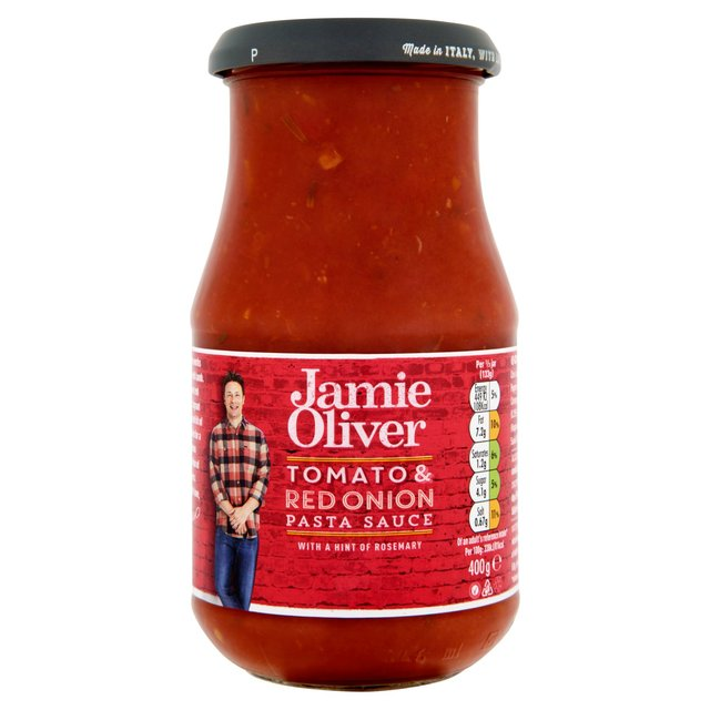 jamie oliver red onion rosemary pasta sauce 400g from ocado. Black Bedroom Furniture Sets. Home Design Ideas