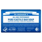 Dr. Bronner's Organic Multi-Purpose Peppermint Soap Bar