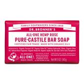 Dr. Bronner's Organic Rose Soap Bar