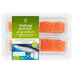 Waitrose Duchy Organic 2 Salmon Fillets
