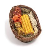 Rosewood Boredom Breaker Natural Treats Willow Treat Basket