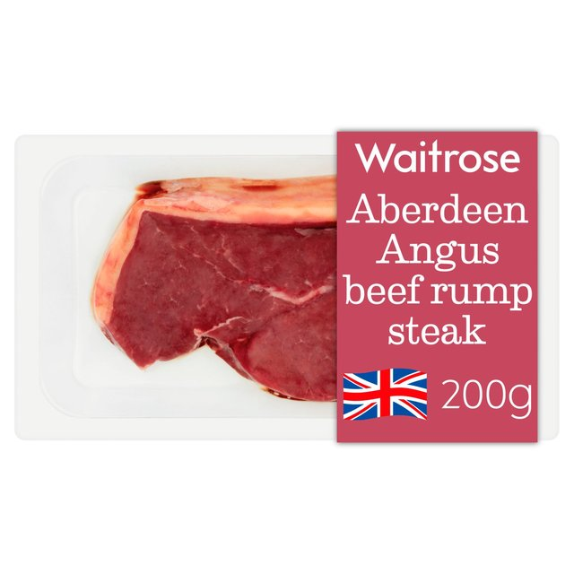 Waitrose Aberdeen Angus Rump Steak | Ocado