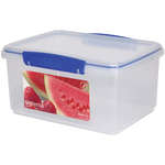 Sistema Klip It Rectangular Plastic Container 3L, Blue