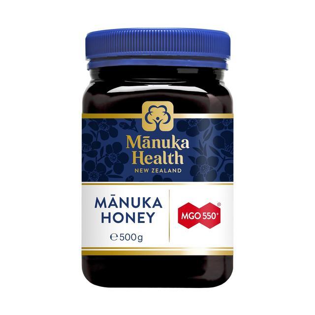 manuka health mgo 550 manuka honey 500g from ocado