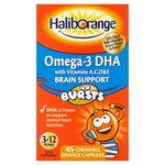 Haliborange Omega-3 Orange Chewable Tablets 45s